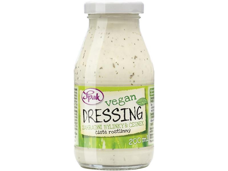 Zobrazit detail výrobku Spak Dressing Vegan Zahradní bylinky & česnek 200 ml