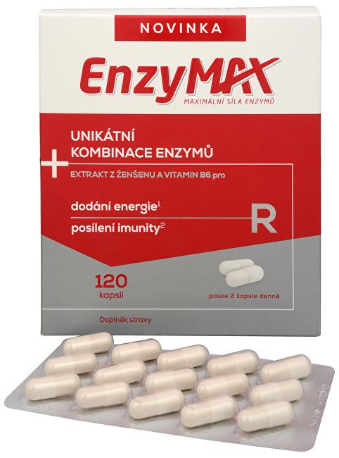 SALUTEM Pharma Enzymax R 120 kapslí - SLEVA - EXPIRACE 31.3.2020