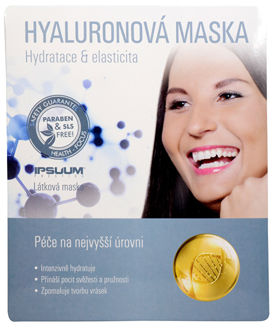 IPSUUM PRESTIGE Hyaluronová maska - látková 23 ml
