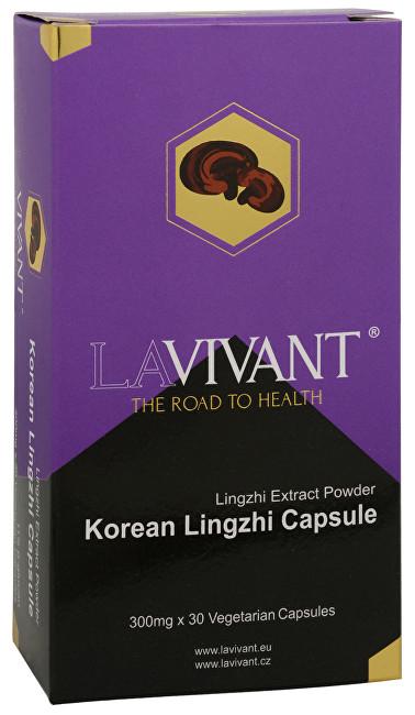 Zobrazit detail výrobku Lavivant Korean Lingzhi (Ganoderma, reishi) 30 kapslí