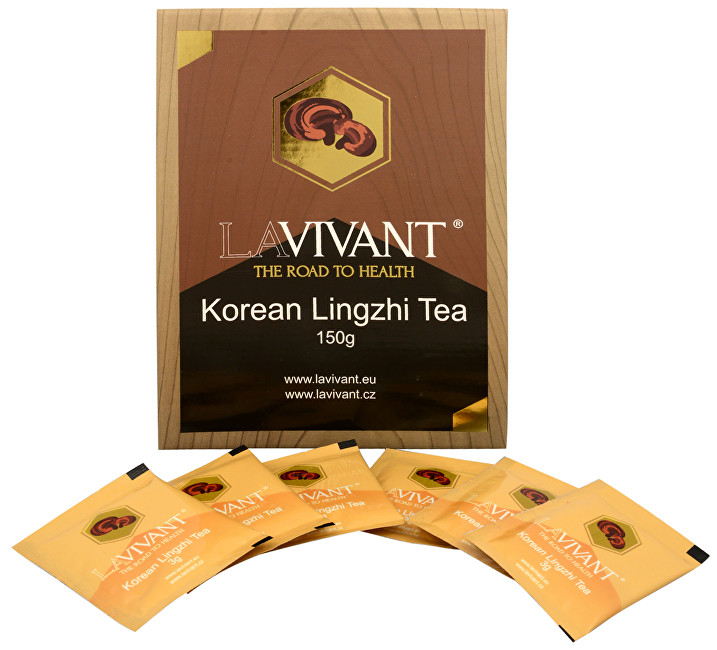Zobrazit detail výrobku Lavivant Korean Lingzhi Tea (Ganoderma, reishi) 50 x 3 g