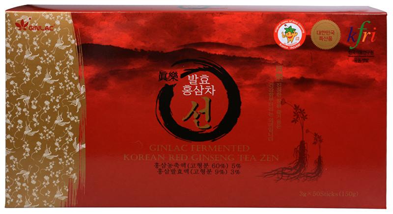 Zobrazit detail výrobku GINLAC Korean Red Ginseng TEA ZEN - čaj z korejského červeného ženšenu 50 x 3 g