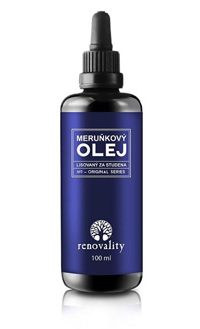 Meruňkový olej za studena lisovaný 100 ml