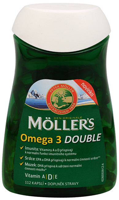 Möller´s Omega 3 Double 112 kapslí