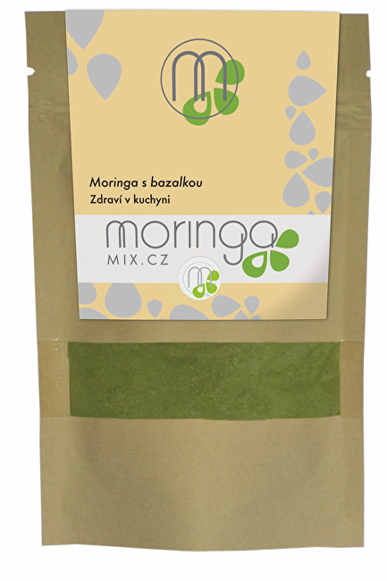 Moringa oleifera s bazalkou 30 g