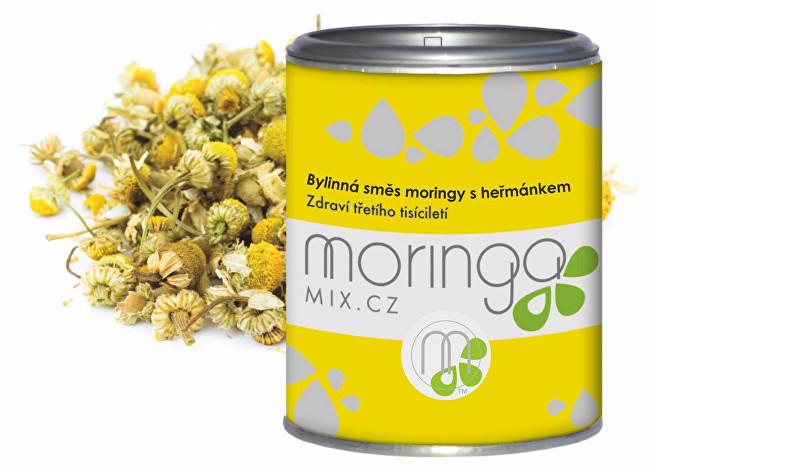 Moringa oleifera s heřmánkem 100 g