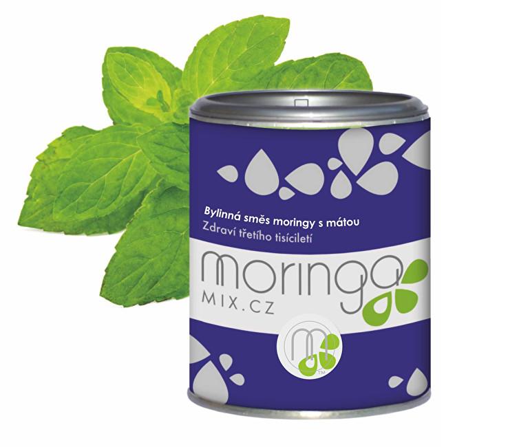 Zobrazit detail výrobku Moringa MIX Bylinná směs moringy s mátou 100 g