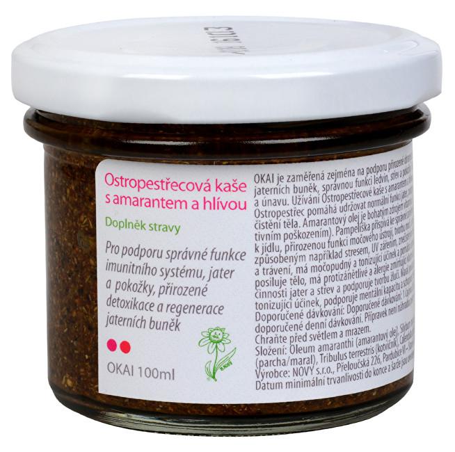 Zobrazit detail výrobku Dědek Kořenář Ostropestřecová kaše s amarantem a hlívou OKAI 100 ml