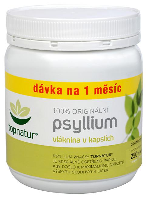 Zobrazit detail výrobku Topnatur Psyllium 200 kapslí + 50 kapslí ZDARMA