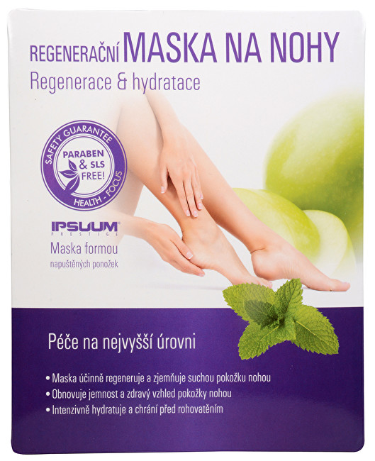 Regenerační maska na nohy - ponožky
