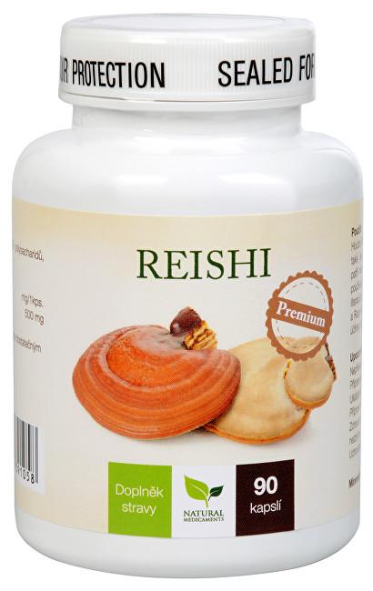 Zobrazit detail výrobku Natural Medicaments Reishi Premium 90 kapslí