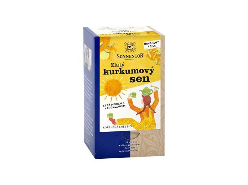 Zobrazit detail výrobku Sonnentor Bio Zlatý kurkumový sen 36g