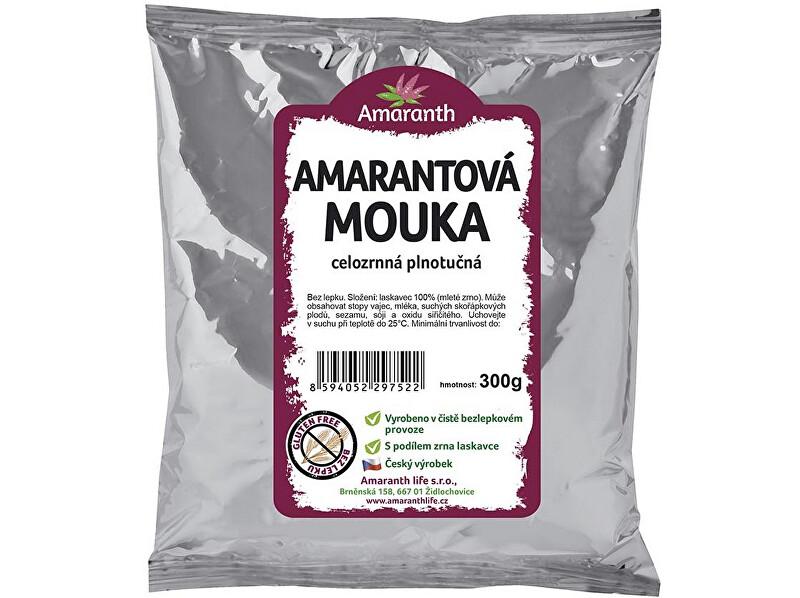 Amaranth life Amarantová mouka celozrnná plnotučná 300g