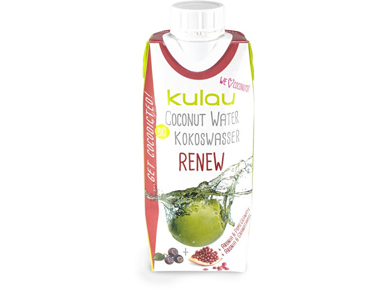 Zobrazit detail výrobku Kulau Bio kokosová voda RENEW 330ml