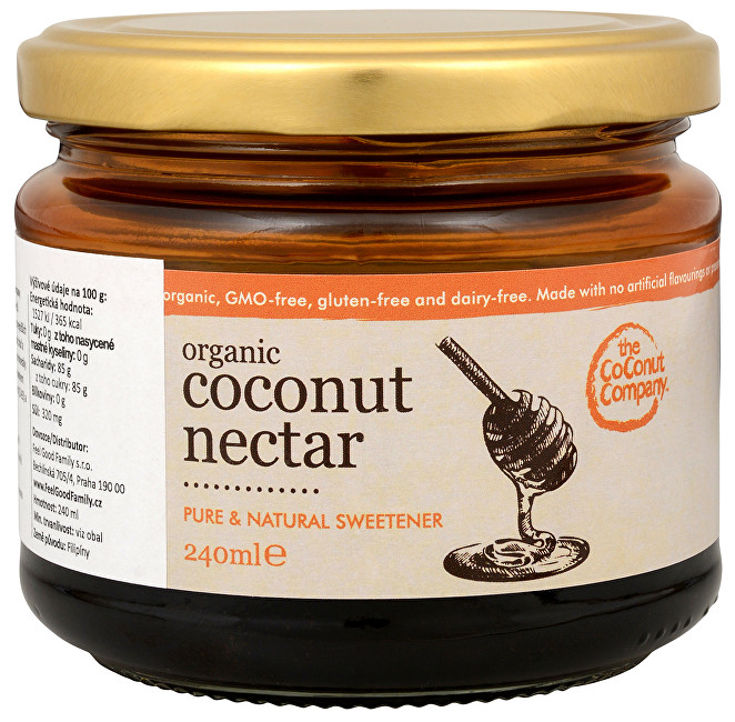 The Coconut Company BIO Kokosový nektar v dóze 240 ml