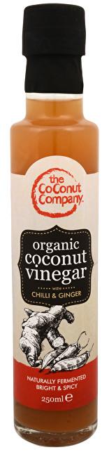 BIO Kokosový ocet s chilli a zázvorem 250 ml