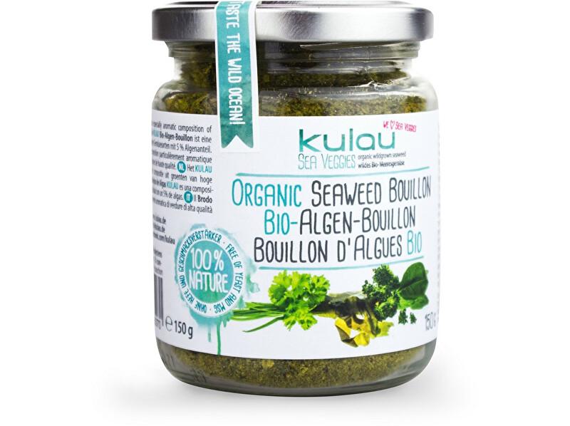 Zobrazit detail výrobku Kulau Bio sypký zeleninový bujón s mořskými řasami 150g