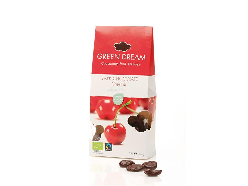 Zobrazit detail výrobku Green Dream Bio třešně v hořké čokoládě 85g, min. trv. 1.12.2018