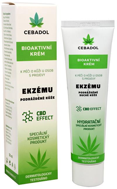 Zobrazit detail výrobku EPIDERMA bioaktivní CBD krém při Ekzému 50 ml