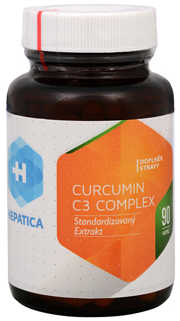 Zobrazit detail výrobku Hepatica Curcumin C3 Complex 90 kapslí