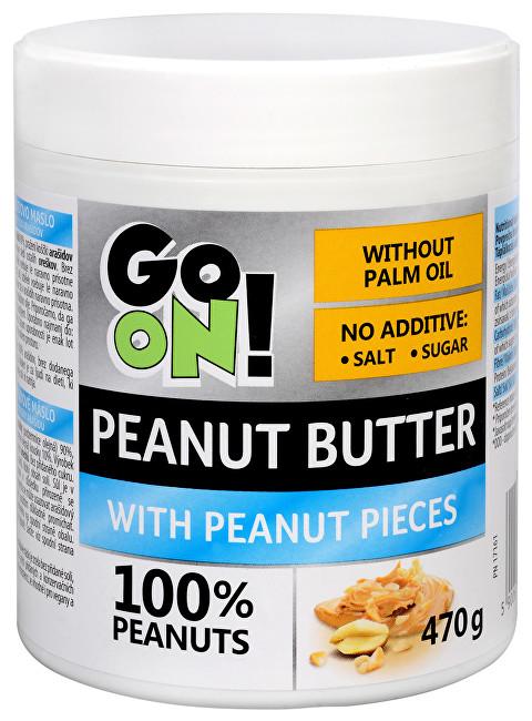 Zobrazit detail výrobku Vieste group GO ON! Arašídové máslo s kousky arašídů 470 g