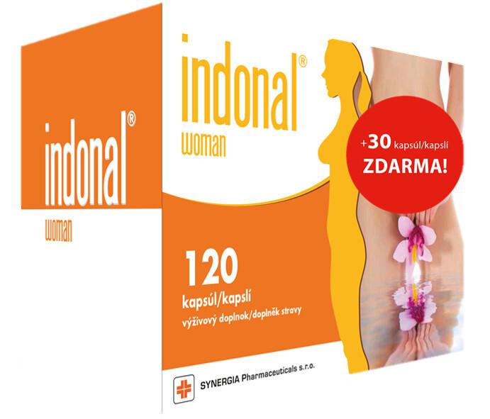 Indonal Woman 120 kapslí + Indonal Woman 30 kapslí