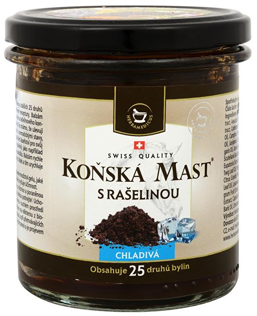 Herbamedicus Koňská mast chladivá s rašelinou 300 ml