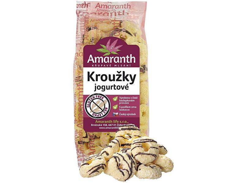 Amaranth life Kroužky jogurtové 100g
