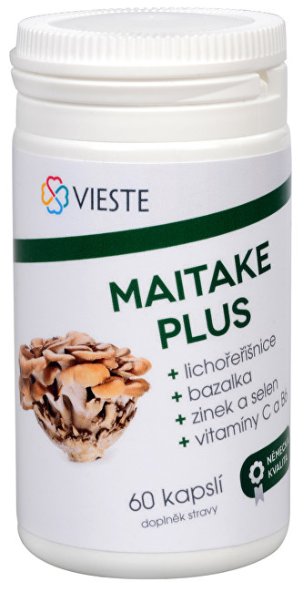 Vieste group Maitake plus 60 kapsúl
