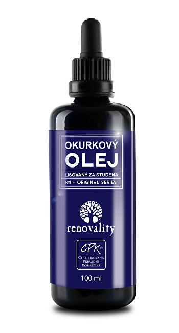 Okurkový olej za studena lisovaný 100 ml
