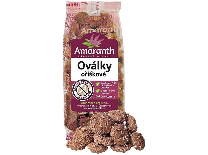 Zobrazit detail výrobku Amaranth life Oválky oříškové 100g