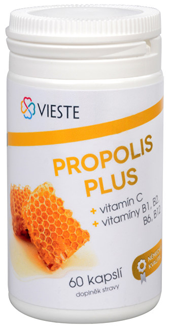 Vieste group Propolis plus 60 kapsúl