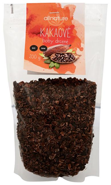 Zobrazit detail výrobku Allnature drcené kakaové boby Bio Raw 200 g