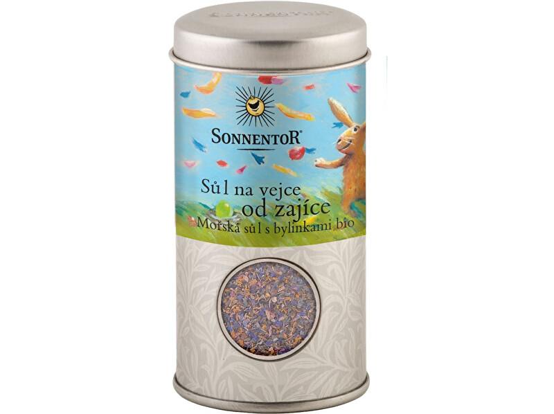 Zobrazit detail výrobku Sonnentor Bio Sůl na vejce od zajíce, mořská sůl s  bylinkami 90g dózička