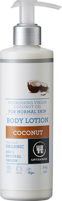 Urtekram Tělové mléko kokosové 245 ml BIO