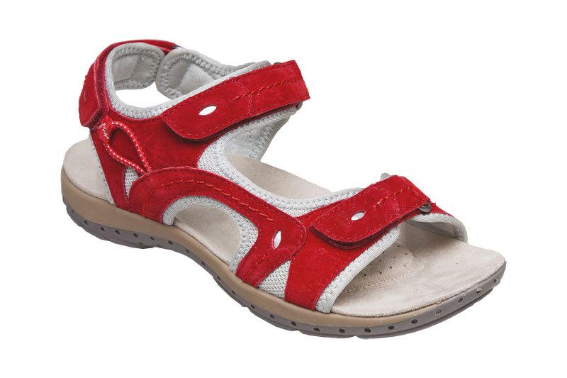 Zobrazit detail výrobku SANTÉ Zdravotní obuv dámská MDA/157-7 červená vel. 37