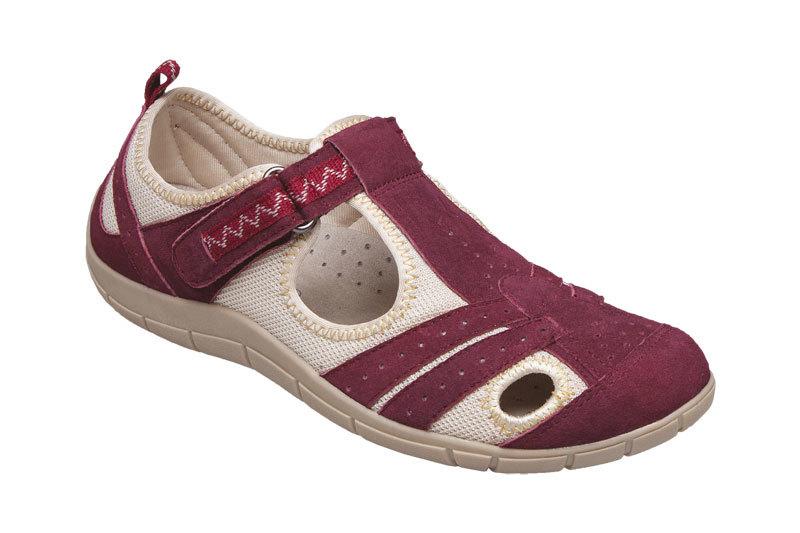 Zobrazit detail výrobku SANTÉ Zdravotní obuv dámská MDA/159-22 vínová vel. 36