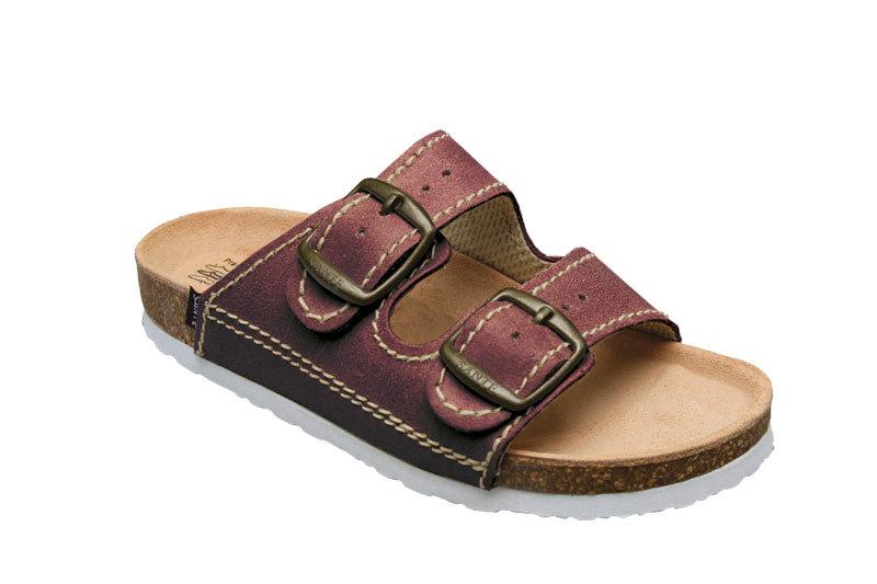 Zobrazit detail výrobku SANTÉ Zdravotní obuv dětská D/202/C32/BP bordo 35