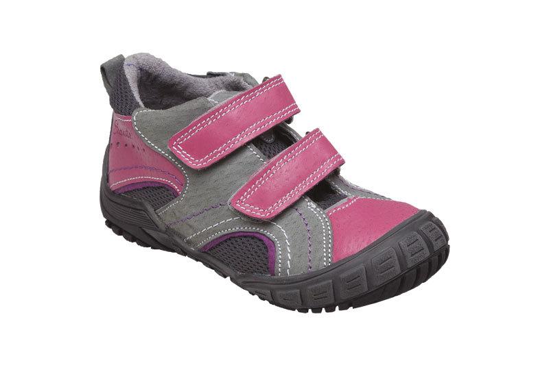Zobrazit detail výrobku SANTÉ Zdravotní obuv dětská N/401/402/P16/P45 šedo-růžová vel. 27