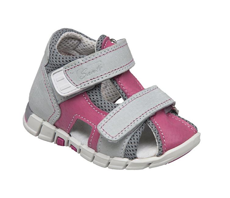 Zobrazit detail výrobku SANTÉ Zdravotní obuv dětská N/810/401/S15/S45 růžová 19