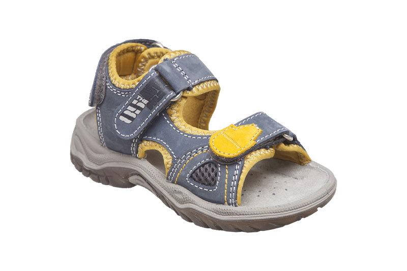 SANTÉ Zdravotní obuv dětská OR/20702 mostarda vel. 27