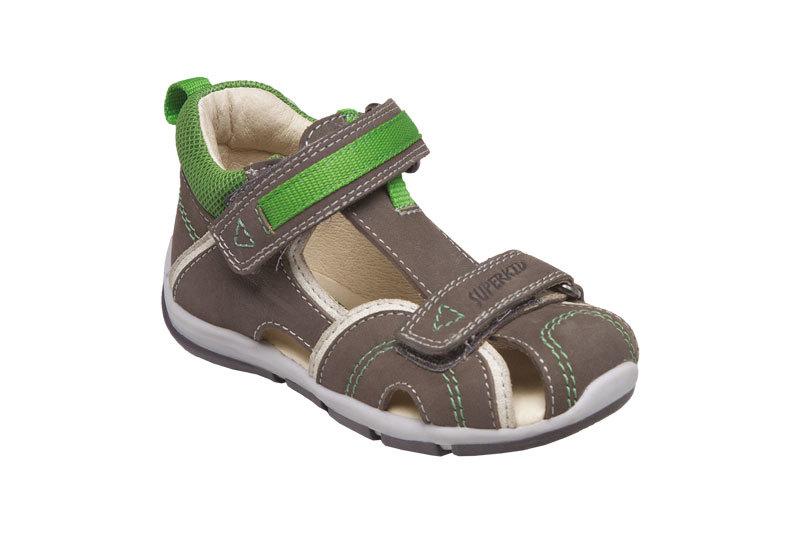 SANTÉ Zdravotní obuv dětská SK/333 khaki-green vel. 25