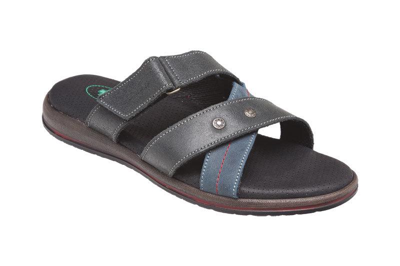 SANTÉ Zdravotní obuv pánská N/164/12/069/086 černo-modrá vel. 41