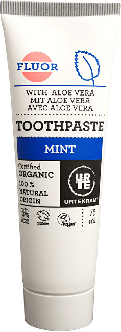 Zobrazit detail výrobku Urtekram Zubní pasta máta s fluorem 75 ml BIO