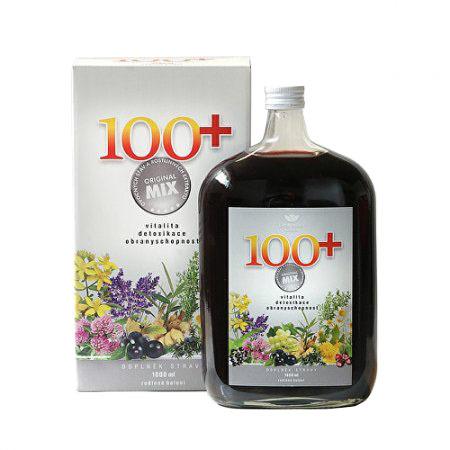 100+ Original mix ovocných šťáv a rostlinných extraktů 1000 ml
