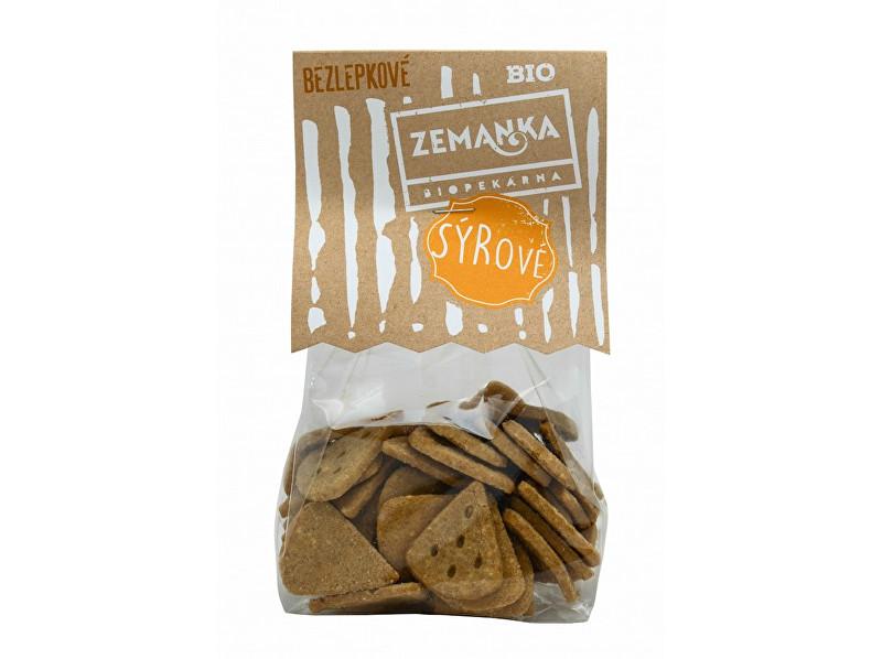 Zobrazit detail výrobku Biopekárna Zemanka Bio Bezlepkové sýrové 100g
