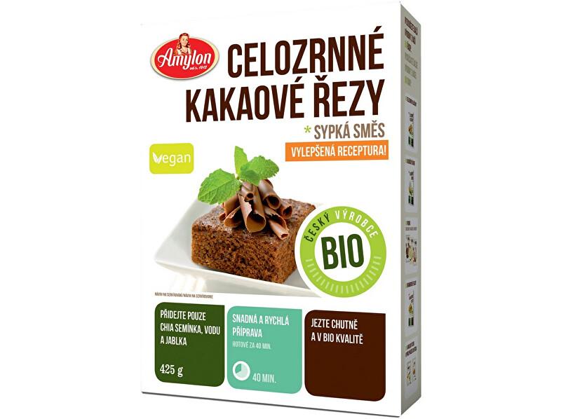 Zobrazit detail výrobku Amylon Bio kakaové řezy celozrnné Amylon 425g
