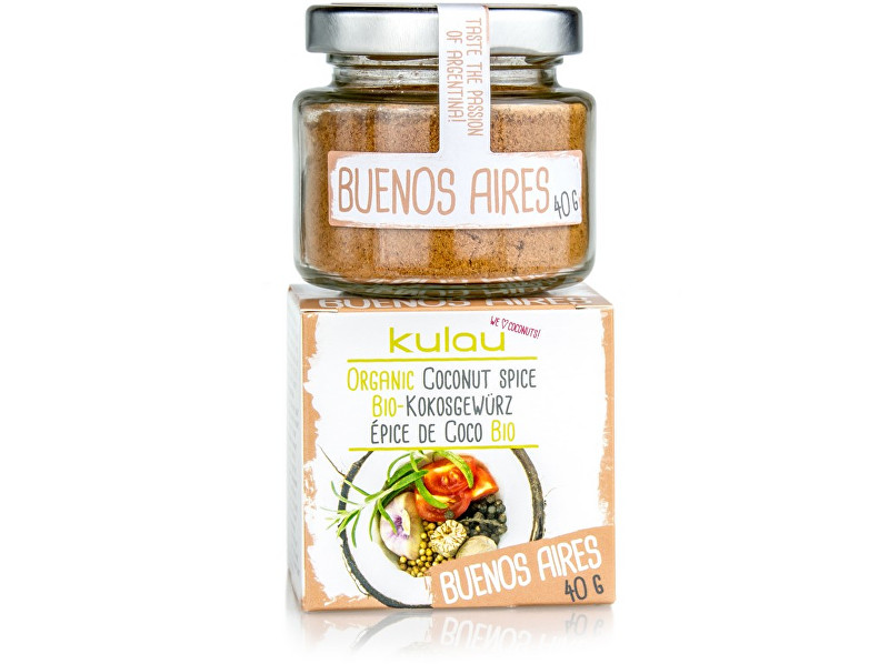 Zobrazit detail výrobku Kulau Bio kokosové koření BUENOS AIRES 40g