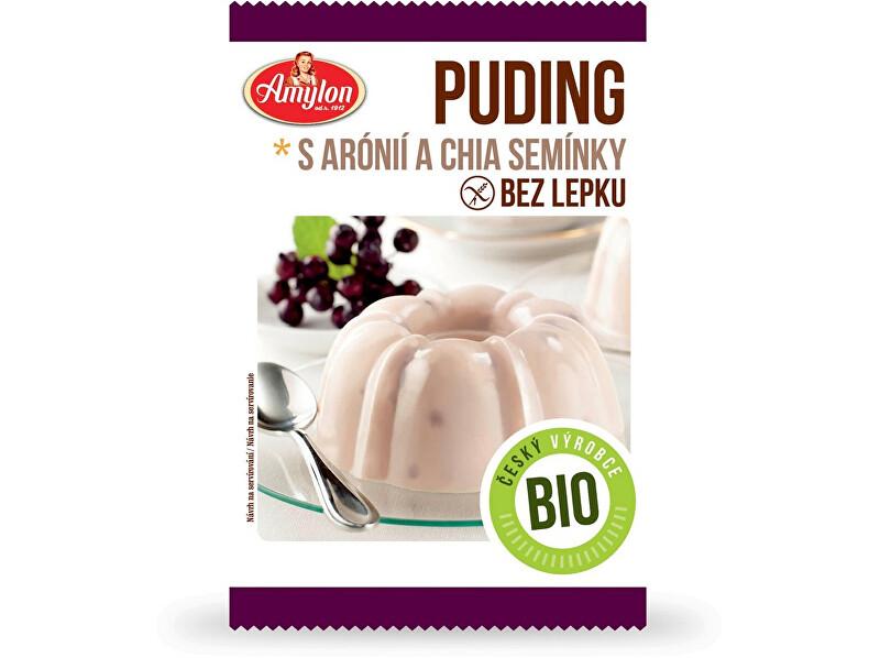 Zobrazit detail výrobku Amylon Bio Puding s aronií a chia semínky Amylon 40g