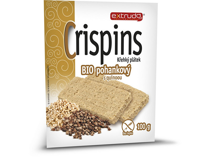 Zobrazit detail výrobku EXTRUDO Bio Cereální křehký chléb Crispins pohankový 2x50g